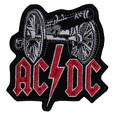 Нашивка с вышивкой ACDC For Those About To Rock