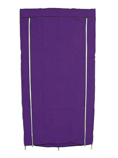 Шафа тканинний складаний для зберігання одягу HCX Storage Wardrobe 8890, фіолетовий