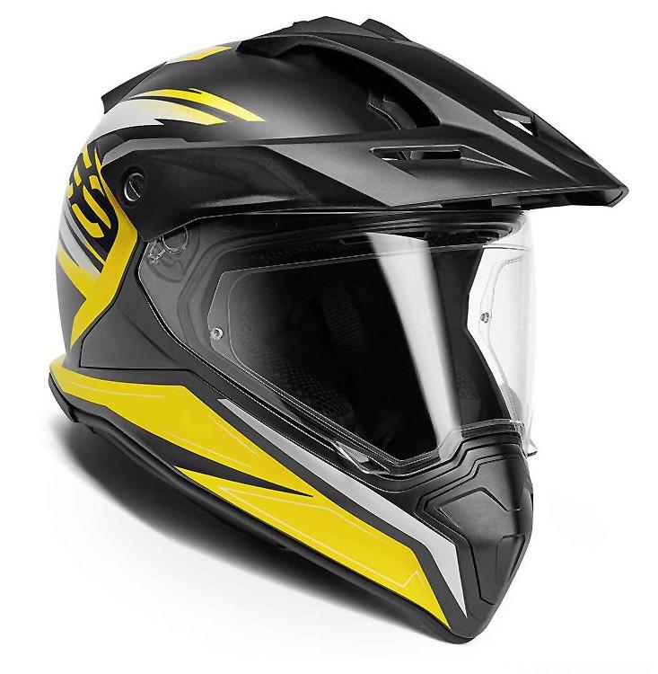 Оригинальный мотошлем BMW Motorrad GS Carbon Helmet, Decor GS Trophy 20 Limited Edition, артикул 76311540060
