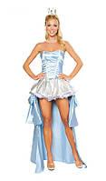 Женский карнавальный костюм принцессы Золушки AL81544