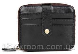 Візитниця Vintage 14603 Чорна, Чорний