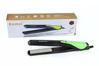 Утюжок выпрямитель для волос Kemei KM-3224, для волос укладка волос защита, для укладки волос, для укладки, фото 1