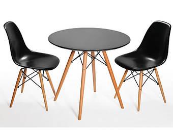 Как выбрать круглый обеденный стол - примеры в интерьере