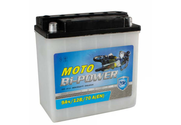 Bi-Power 6мтс 9C Мото аккумулятор MBP-6-9D, фото 2