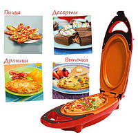Инновационная электросковорода Red Copper 5 minuts chef электрическая скороварка для вторых блюд, сковорода