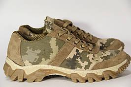 Тактические кроссовки из натуральной кожи MAX K