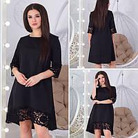 Платье с кружевом в расцветках 42173, фото 1