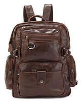 Рюкзак Vintage 14232 шкіряний Коричневий, Коричневий