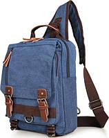 Рюкзак текстильний Vintage 14482 синій