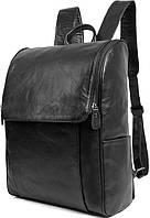 Рюкзак Vintage 14523 шкіряний Чорний, Чорний