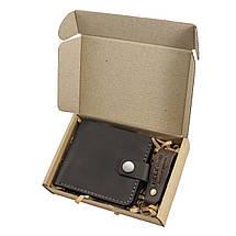 Кошелек мужской из кожи темно-коричневый с монетницей HELFORD Милтон brn (1132709520), фото 3
