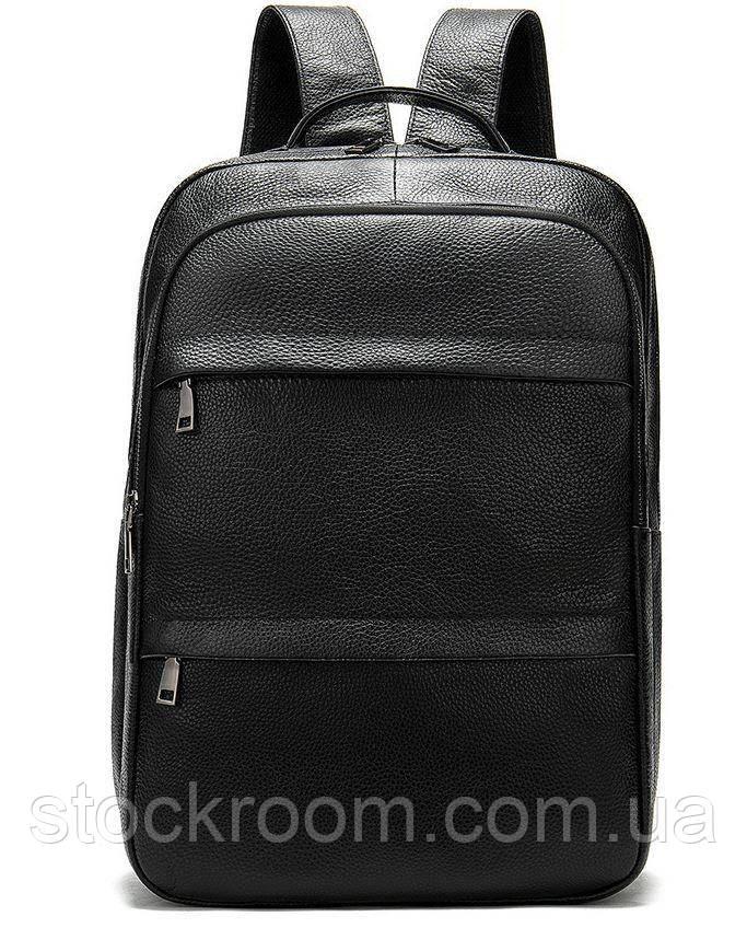 Рюкзак Vintage 14696 кожаный Черный, Черный