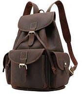 Рюкзак Vintage 14713 шкіряний Коричневий, Коричневий