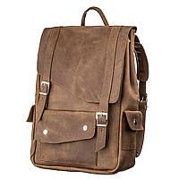 Рюкзак з ефектом старовини SHVIGEL13947 Коричневий, Коричневий