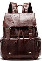 Рюкзак кожаный Vintage 14800 Коричневый, Коричневый