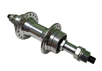 Втулка велосипедная задняя SHENGFU SF-B01R, Пром-подшипники, алюмин., Disk, 36 сп.