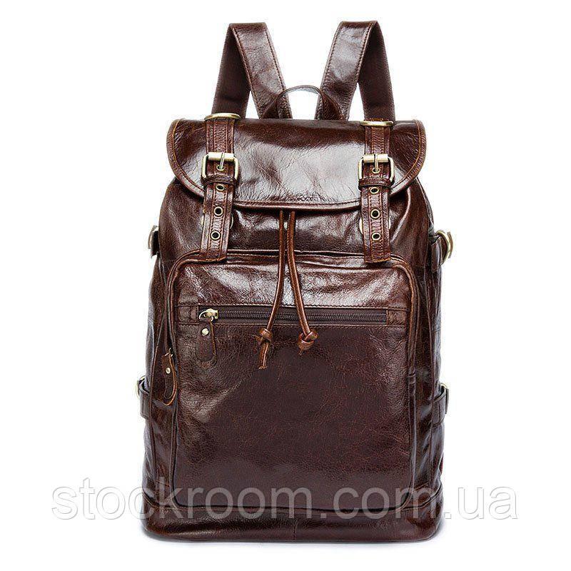 Рюкзак кожаный Vintage 14843 Коричневый, Коричневый