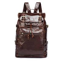 Рюкзак кожаный Vintage 14843 Коричневый, Коричневый, фото 1