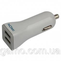 Автомобильное зарядное устройство Nomi CC02210 White