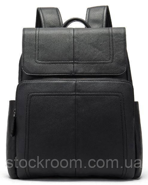 Рюкзак шкіряний Vintage 14891 Чорний, Чорний