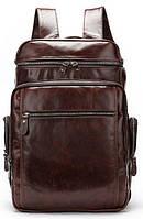 Рюкзак шкіряний Vintage 14892 Коричневий, Коричневий