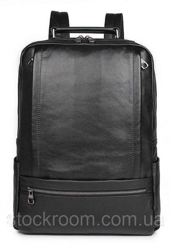 Рюкзак Vintage 14949 кожаный Черный, Черный