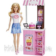 Лялька Барбі Кондитерська магазин солодощів Barbie Bakery Shop DMC35