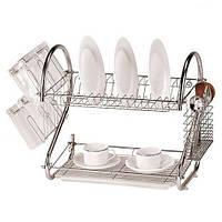 Настольная сушилка для посуды 53 см Stenson MH-0318