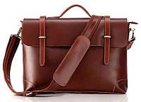 Портфель Vintage 14138 кожаный Коричневый, Коричневый, фото 1