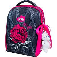 Рюкзак школьный каркасный Delune с наполнением, 7-149, для девочек