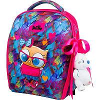 Школьный рюкзак каркасный Delune с наполнением, для девочек (7mini-015), фото 1