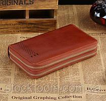 Мужской клатч Vintage 14195 Коричневый, Коричневый