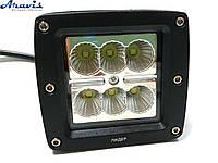 Противотуманные фары LED ближний свет 6x3W 15-30W 9-32V 6000K