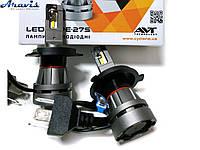 Автомобильные светодиодные LED лампы H4 Cyclone 5000K type 27 комплект для авто