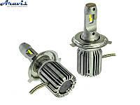 Автомобильные светодиодные LED лампы H4 Cyclone 5700K type 31 комплект для авто