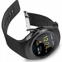 Сенсорные Умные Смарт Часы Smart Watch Y1S Black Чёрные Смарт часы