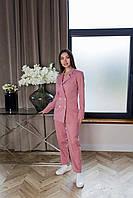 Брючный костюм розового цвета Udler