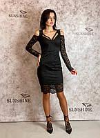 Женское платье из гипюра  Poliit 8434, фото 1