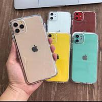 Прозрачный силиконовый чехол для iPhone 11 Veron