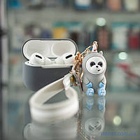 Чехол Cute Charm AirPods Pro Panda Grey