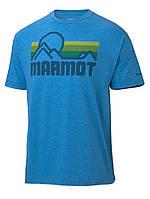 Футболка мужская MARMOT Coastal Tee SS (2 цвета) (MRT 51880.8550)