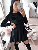 Бархатное женское Платье