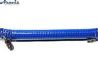Шланг спиральный для пневмоинструмента 5ммх8ммх10м King STD