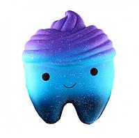 Игрушка сквиш Зуб большой | Мягкая игрушка-антистресс | Squishy Зуб
