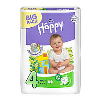 Подгузники Bella Baby Happy Green Tea 4 (8-18 кг), 66 шт
