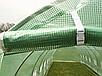 Садовая теплица тонель 10m2 с окнами 4x2,5м, фото 3