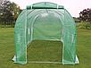 Садовая теплица тонель 10m2 с окнами 4x2,5м, фото 5