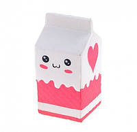 Игрушка сквиш Коробка большая | Мягкая игрушка-антистресс | Squishy Пакет Молока