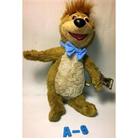 """Мягкая игрушка """"Медведь Бобу"""" м/ф Медведь Йоги А-9_26см"""