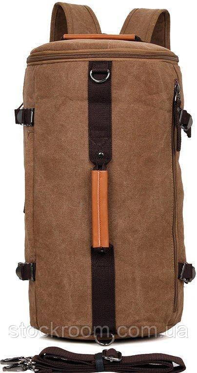 Сумка трансформер дорожная Vintage 14582 коричневая